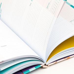 Keskin Color - Keskin Color 2019-2020 Akademik Ajanda Karanfiller 9108 (1)