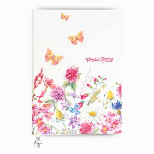 Keskin Color A5 Butterfly Smyth Çizgili Defter Fuşya 3953