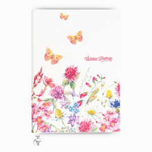 Keskin Color - Keskin Color A5 Butterfly Smyth Çizgili Defter Fuşya 3953