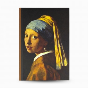 Keskin Color - Keskin Color The Girl With a Pearl Earring A5 Çizgili Defter 3851