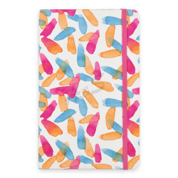 Keskin Color - Keskin Color Water Color Pattern-Art A5 Çizgisiz Defter