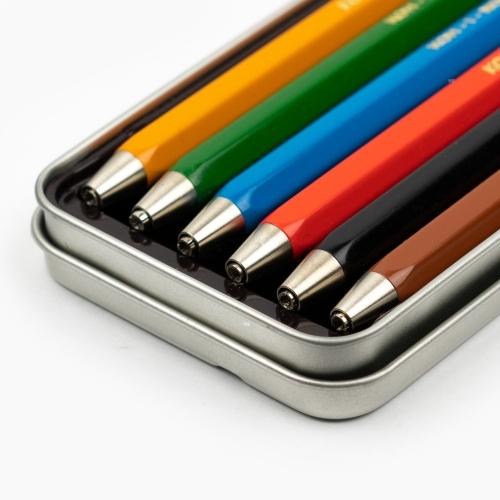 Koh-i-noor 6'lı Metal Kutulu 2mm Çizim Kalem Seti 5217 7857