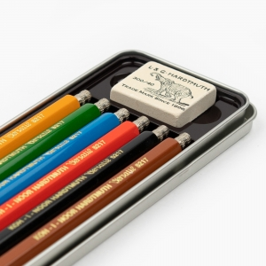 Koh-i-noor 6'lı Metal Kutulu 2mm Çizim Kalem Seti 5217 7857 - Thumbnail