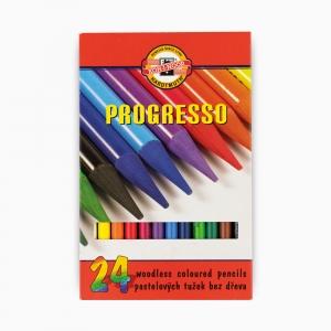 Kohinoor - Koh-i-noor Ahşapsız 24 Renk Boya Kalem Seti 8758 2246
