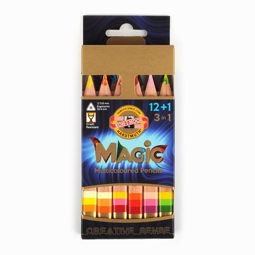 Koh-i-noor Jumbo Magic Pencil 12+1 Set 3404N 8613