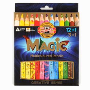 Kohinoor - Koh-i-noor Jumbo Magic Pencil 12+1 Set 3408 8606