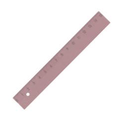 Kum - KUM 15 cm Pastel Pembe Cetvel