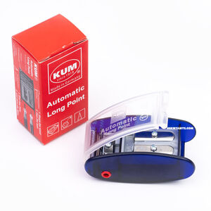 KUM AS2M Automatic Long Point Kalemtraş Mavi 1053121 0787 - Thumbnail