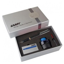 Lamy - Lamy Safari Dolma Kalem Siyah Set