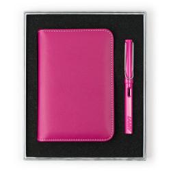 Lamy - LAMY Safari Pink Dolma Kalem Notluk Set