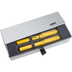 Lamy - Lamy Safari Sarı Dolma Kalem-Roller Kalem Set