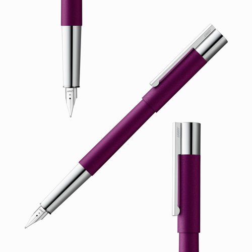 Lamy Scala Dolma Kalem Dark Violet Special Edition