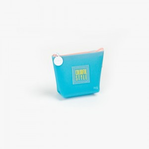 Languo - Languo Colorful Style Cüzdan Mavi LG-8485