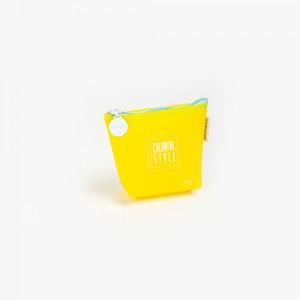 Languo - Languo Colorful Style Cüzdan Sarı LG-8485