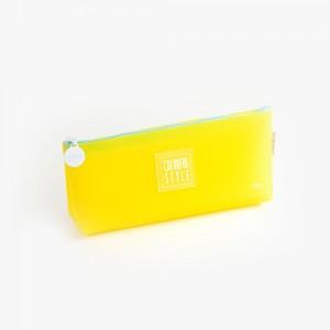 Languo - Languo Colorful Style Kalem Çantası Sarı LG-8483