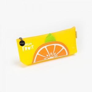 Languo - Languo Hello Fruit Kalem Çantası Sarı LG-8486