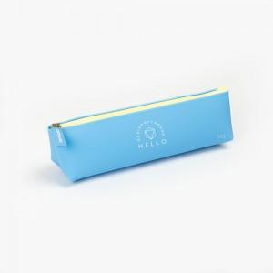 Languo - Languo Hello Kalem Çantası Mavi LG-8714
