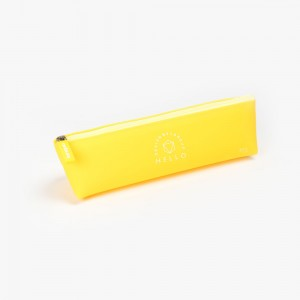 Languo - Languo Hello Kalem Çantası Sarı LG-8714
