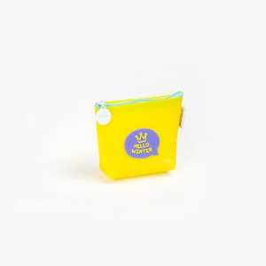 Languo - Languo Hello Winter Cüzdan Sarı LG-10178