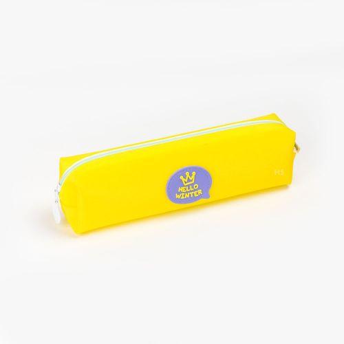 Languo Hello Winter Kalem Çantası Sarı LG 10177