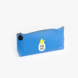 Languo - Languo Pine Apple Kalem Çantası Mavi LG 8500