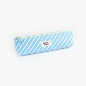 Languo - Languo Simple Style Kalem Çantası Mavi LG 8715