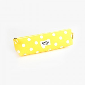 Languo - Languo Simple Style Kalem Çantası Sarı LG 8715