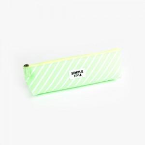Languo - Languo Simple Style Kalem Çantası Yeşil LG 8715