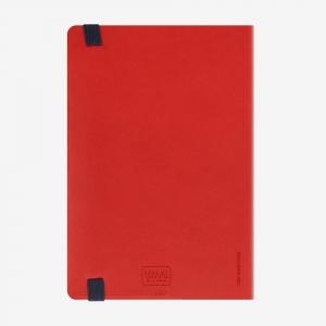 Legami - Legami 2019 Medium 12 Aylık Günlük Ajanda Kırmızı AG121936 7583 (1)