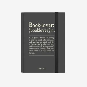 Legami - Legami 2019 Small 12 Aylık Günlük Ajanda Booklover AG122070 8917