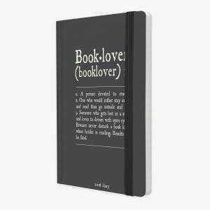 Legami - Legami Booklover 2019 Medium 12 Aylık Haftalık Ajanda AG122090 9112 (1)