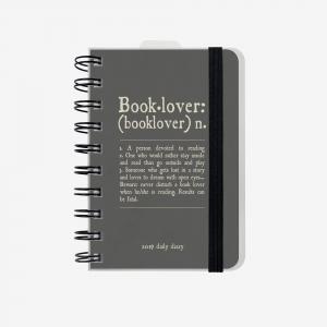 Legami - Legami Booklover 2019 Small 12 Aylık Günlük Ajanda AG122120 9419