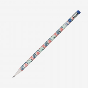 Legami - Legami HB Silgili Kurşun Kalem Flowers SCV0049 8855