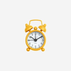 Legami - Legami Mini Tick Tock Alarmlı Saat Sarı