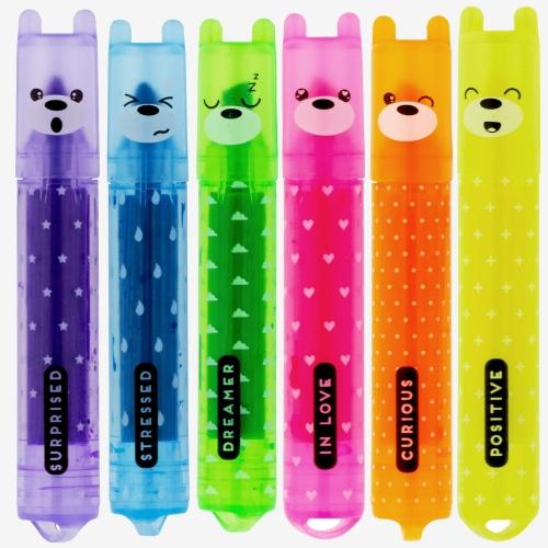 Legami Teddy's Mood 6lı Mini İşaretleme Kalem Seti