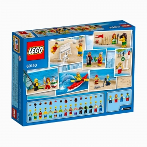 Lego - LEGO City People pack – Fun at the beach 5-12 60153 5999 (1)