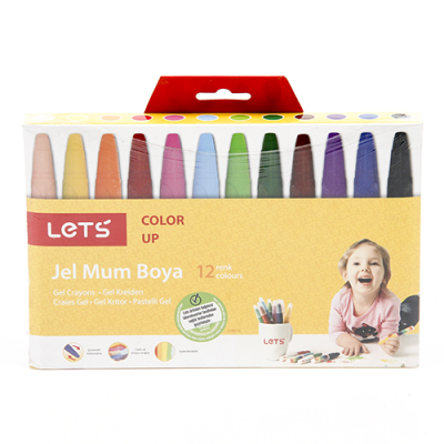 Lets Jel Mum Boya 12'li