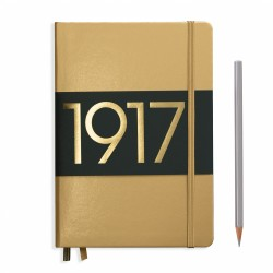 Leuchtturm1917 - Leuchtturm1917 100.Yıl Limited Edition Çizgisiz Gold