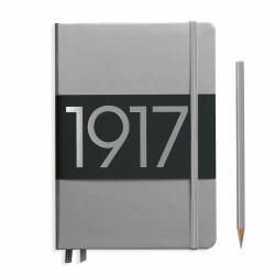 Leuchtturm1917 - Leuchtturm1917 100.Yıl Limited Edition Çizgisiz Gümüş
