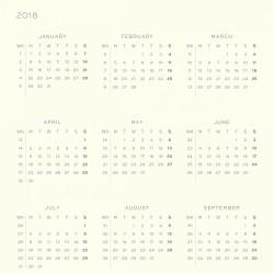 Leuchtturm1917 2018 Daily Planner Emerald - Thumbnail