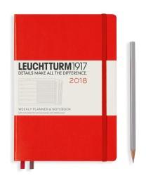 Leuchtturm1917 - leuchtturm1917 2018 weekly planner notebook