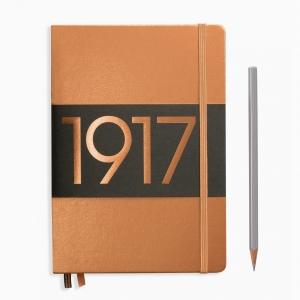 Leuchtturm1917 - Leuchtturm1917 A5 100.Yıl Special Edition A5 Dot (Noktalı) Defter Copper 355680 7896