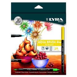 Lyra - Lyra Aqua Brush Duo 24'lü