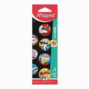 Maped - Maped 4'lü Mıknatıs Seti Bang 0109
