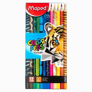 Maped - Maped Color Peps Animals 12'li Kuru Boya Seti 2122