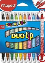 Maped - Maped Duo Tip Keçeli Kalem 10'lu