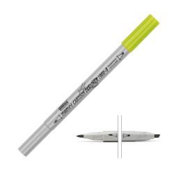 Marvy - MARVY Cartoon Designer 1900-B Marker No 52 Yellow Green