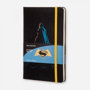 Moleskine - Moleskine A5 Batman V Superman Limited Edition Çizgili Defter 1527
