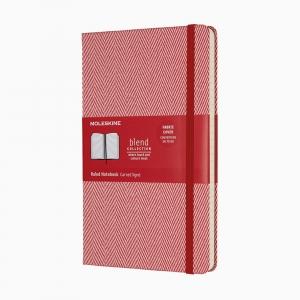 Moleskine - Moleskine A5 Blend Limited Edition Collection Çizgili Defter Kırmızı 5990