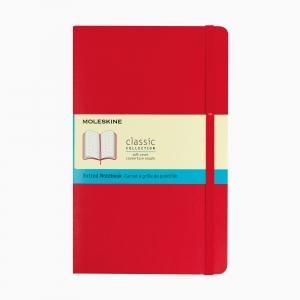 Moleskine - Moleskine A5 Classic Collection Dotted (Noktalı) Defter Soft Kapak Kırmızı 4665